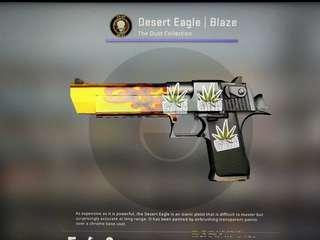 CSGO DESERT EAGLE| Blaze FN
