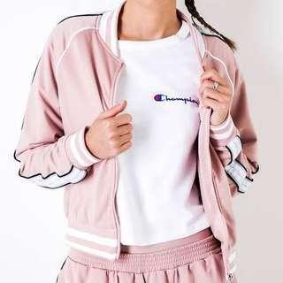 [PRICE REDUCED] Champion Track Jacket In Dream Pink