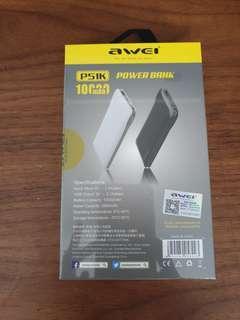 🚚 Brand New Awei 10000mah power bank