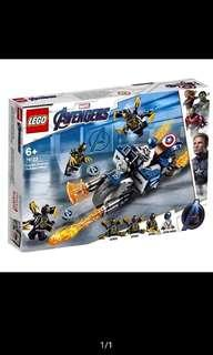 Lego end game 76123 captain America outriders attack