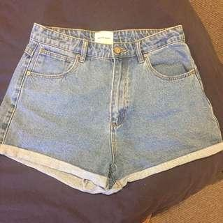 Abrand jeans shorts!