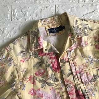 Ralph Lauren Floral Denim Jacket