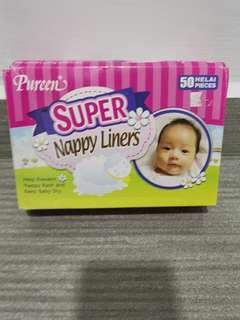 Pureen Super Nappy Liner
