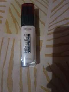 Loreal infallible 24H fresh wear shade 130 true beige