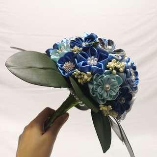 Handmade Japanese Fabric Flower Bouquet (Pre-order)