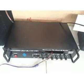 Paket Power Amplifier Ranic 1600 WATT PMPO