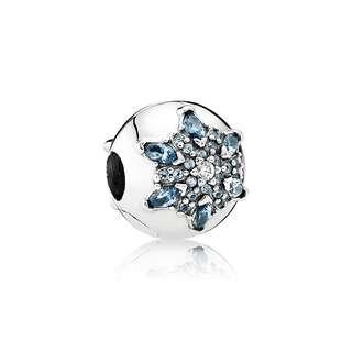 Pandora Snowflake Clip