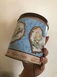 Winnie the Pooh Tin Container