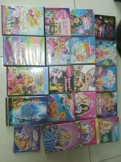 Assortment of barlie DVDs