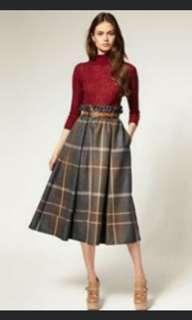 Tartan Skirt import bangkok