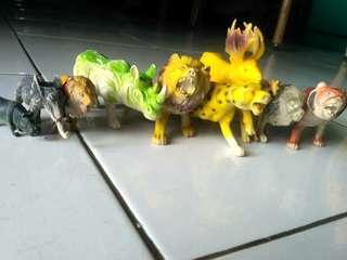 Mainan binatang2