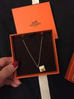 Hermes Necklace - Authentic