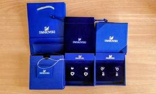 Swarovski Earrings - Love Series (4 Lovely Designs)
