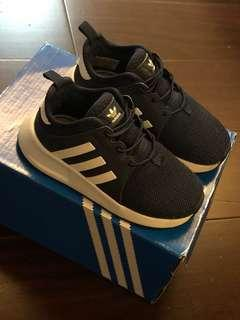 🚚 韓國帶回adidas X_PLR EL I 100%正版男童鞋14cm深藍色