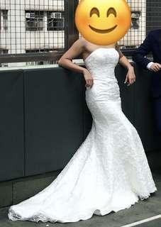 婚禮用品 結婚物資 拖尾婚紗