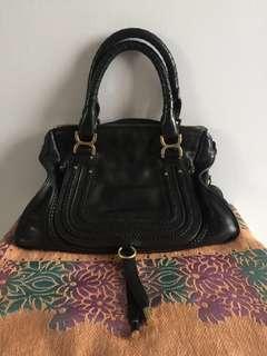 Chloe Marcie Medium Black Bag