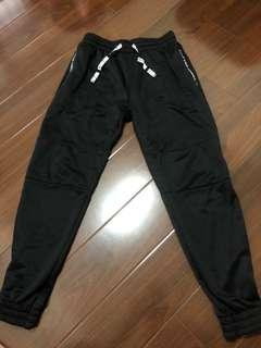 太空棉束口褲L號