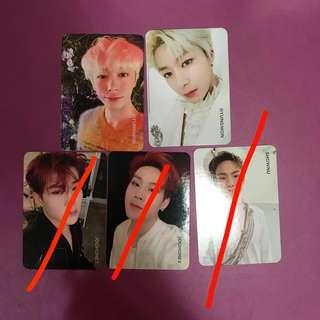 WTS / WTT Monsta X Take 2 We Are Here Photocards