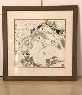 *Wu Guanzhong Lithograph