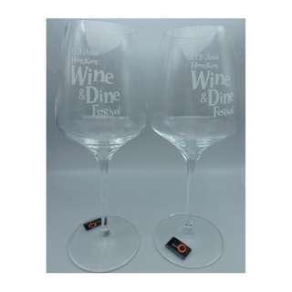 中國建設銀行(亞洲) CCB (ASIA)-Wine & Dine Festival 德國制 紅酒杯一對