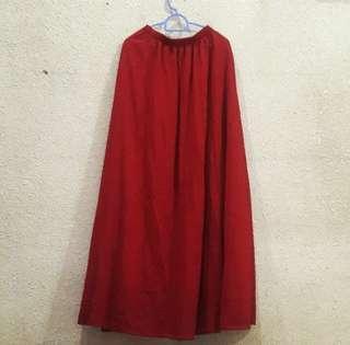 Long Skirt Maroon #shero #STB50
