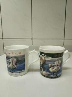 🚚 世界天鵝馬克對杯(送免費贈品)