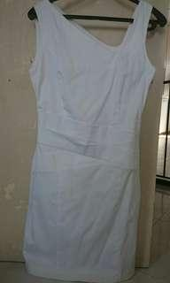 Naf Naf pure white dress
