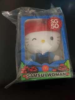 McDonald Hello Kitty SG50 Samsui Women