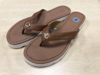Coach Shelly Women Open Toe Leather Sandals