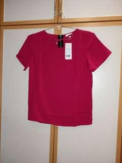 Necklace Tee (red)