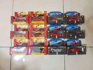 Brand New. 1:38 Scale Shell V-Power Ferrari Toy Cars. Ferrari Official Licensed Product.
