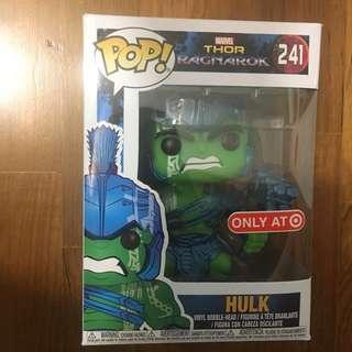 🚚 Blue and Green Hulk funko pop