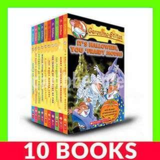Geronimo Stilton (Book 11-20) - 10 Books