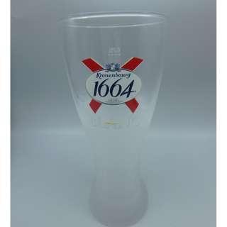 Kroneboury 1664  BLANC 啤酒杯 0.25L