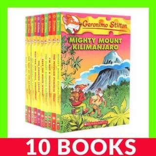 Geronimo Stilton (Book 41-50) - 10 Books