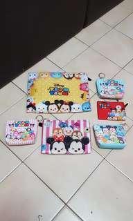 Tsum Tsum Zipper Bags