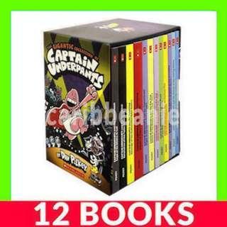 Captain Underpants Box Set - 12 Books