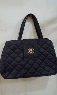 Tas Chanel Blue Preloved