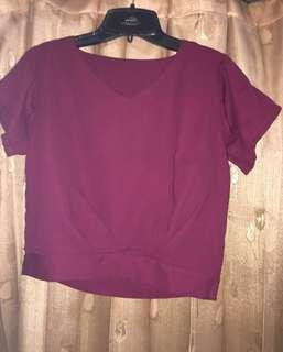 Crops red