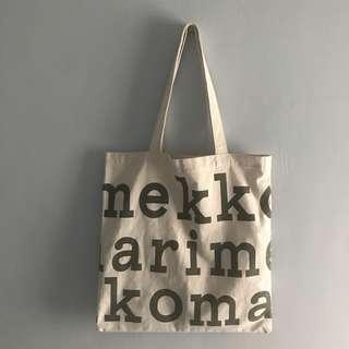 字母帆布包