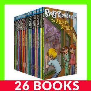 A to Z Mysteries Set - 26 Books