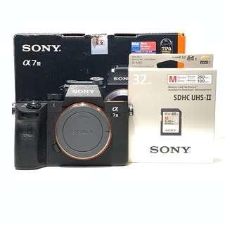 Sony A7 III A7III A7M3 +32GB UHS-II Card ( 99.9% 1 Week old only)