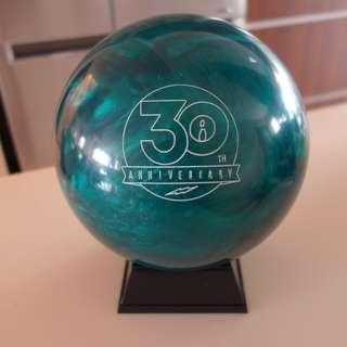 NEW Undrilled 14lb Storm Teal 30th Anniversary Pearl Reactive Bowling Ball