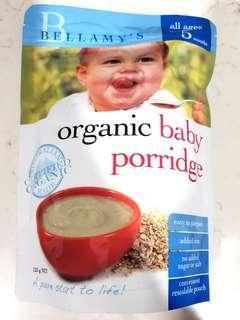 BN Bellamy's Organic Baby Porridge 125g
