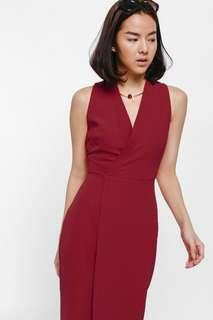 Love Bonito Niata Asymmetrical Crossover Dress