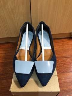 正韓 韓國 尖頭平底鞋 全新