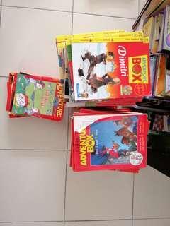 Adventure box book preschool English story