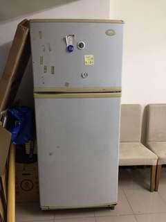 二手三洋雙門大冰箱