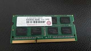 Laptop RAM DDR3 4GB
