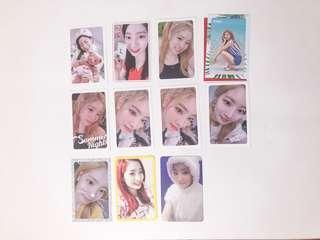 dahyun photocards
